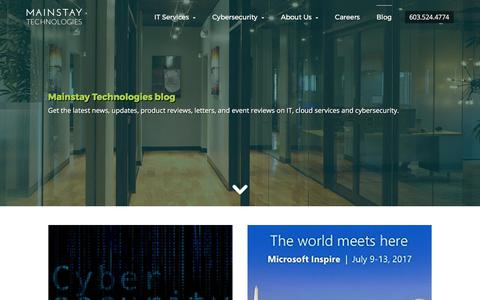 Mainstay Technologies Blog | Read industry news, updates, and more
