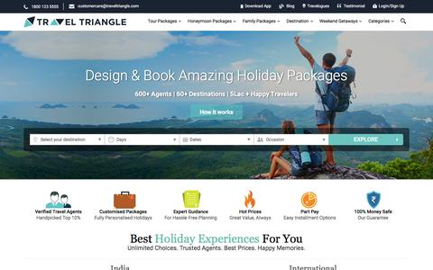 Personalized Holiday Packages   Customized Tour Packages from mutiple local and trusted travel agents