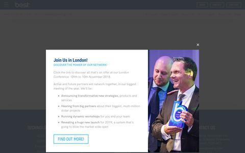 Screenshot of Login Page bestenergysaving.com - Partner Information Area   Could You be A BEST Partner? - captured Oct. 21, 2018