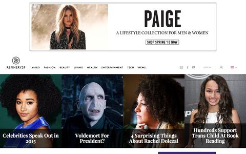 Screenshot of Team Page refinery29.com - Interviews, Profiles Of Most Interesting People - captured Feb. 5, 2016