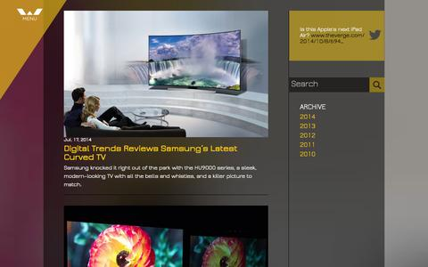 Screenshot of Blog walbrandt.com - Blog | Walbrandt Technologies - captured Oct. 8, 2014
