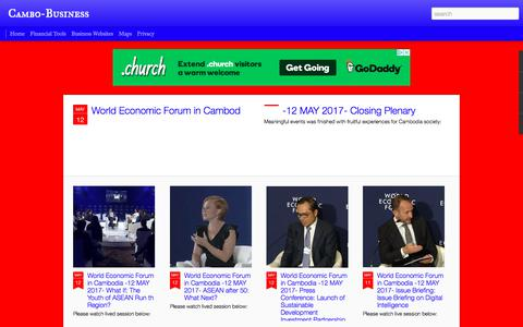 Screenshot of Blog cambo-business.com - Cambo-Business - captured July 15, 2018