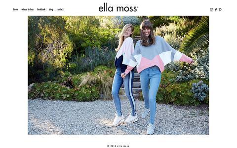 Screenshot of Blog ellamoss.com - ellamoss | Blog - captured Dec. 7, 2018