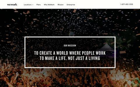 Mission | WeWork