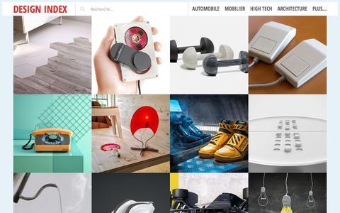 Design Index - Design Index est un blog ouvert sur le monde d'aujourd'hui, au delà des barrières du design.