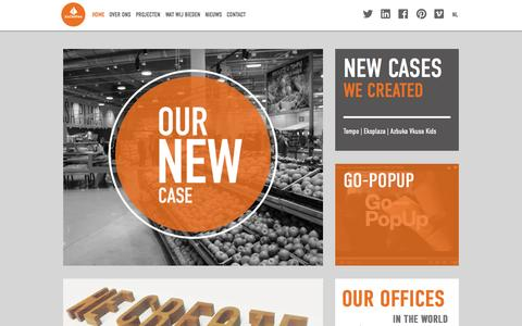 Screenshot of Home Page josdevries.eu - JosDeVries - captured Aug. 5, 2015