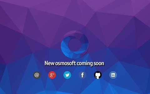 Screenshot of Home Page osmosoft.com - osmosoft - captured Sept. 30, 2014