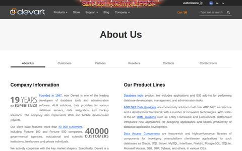 About Us | Devart