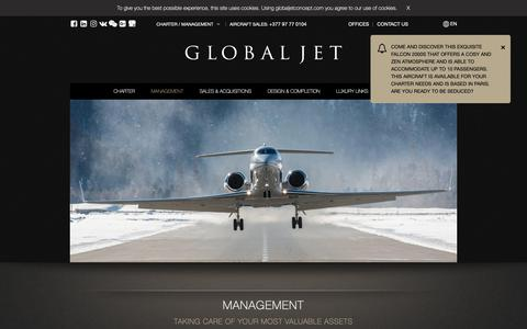 Screenshot of Team Page globaljetconcept.com - Taking care of your most valuable assets. Discover our exceptional Aircraft Management Services. Contact us for a tender. - captured Nov. 5, 2018