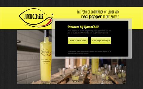 Screenshot of Home Page limonchili.org - LIMONCHILI - captured Jan. 20, 2015
