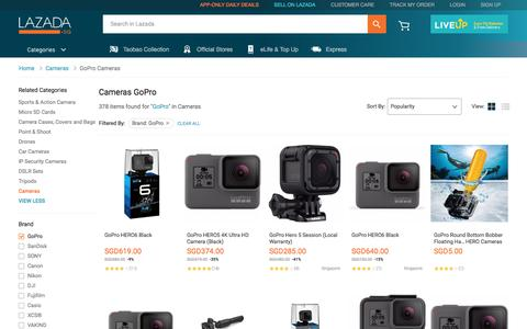 Latest GoPro Cameras Products | Enjoy Huge Discounts | Lazada SG