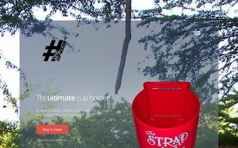 Screenshot of Home Page thestrapon.org - The Strap On - captured Sept. 30, 2014
