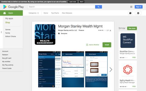 Morgan Stanley Wealth Mgmt - Android Apps on Google Play