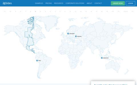 Screenshot of Contact Page 24slides.com - Contact Us | 24Slides - captured Oct. 26, 2019