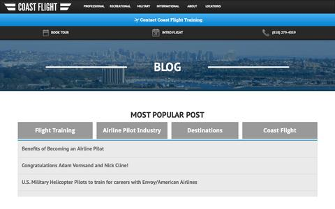 Aviation & Aerospace Blogs | Website Inspiration and