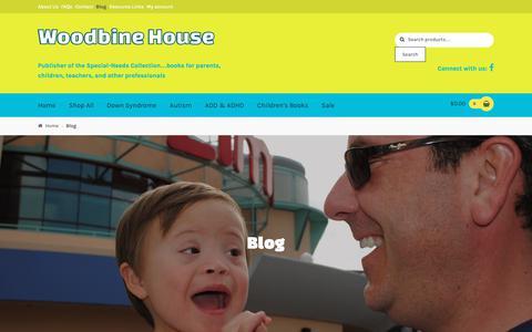 Screenshot of Blog woodbinehouse.com - Blog - Woodbine House - captured Oct. 31, 2018