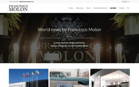 Screenshot of Blog francescomolon.com - Blog   FRANCESCO MOLON - captured Nov. 14, 2018