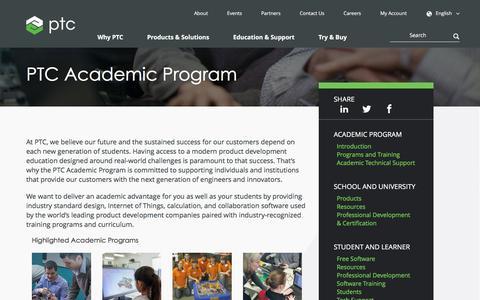 PTC Academic Program | PTC