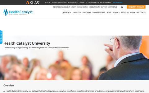 Health Catalyst University