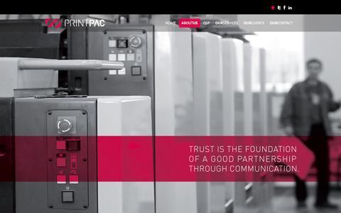 Screenshot of Team Page printpac.ae - Printpac IMPZ | Commercial Offset Printing Press in Dubai - captured Feb. 8, 2016