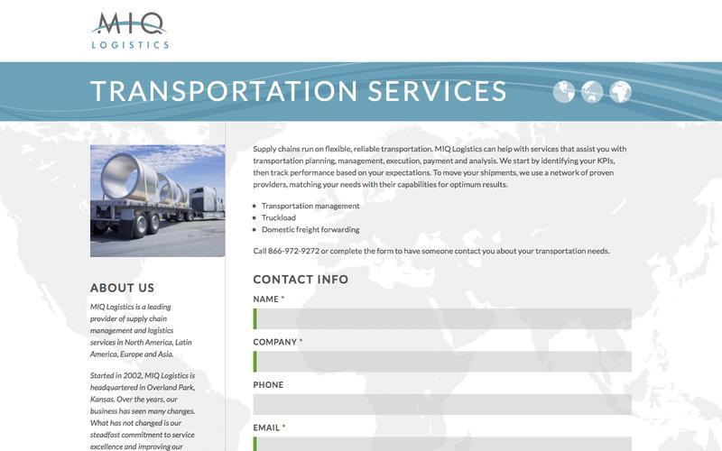 Transportation Services | MIQ Logistics