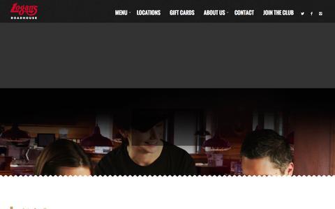 Screenshot of Jobs Page logansroadhouse.com - Careers - Logans Roadhouse - captured Dec. 1, 2015