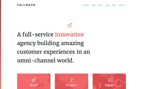 Tallwave – Transform your great ideas into great businesses.
