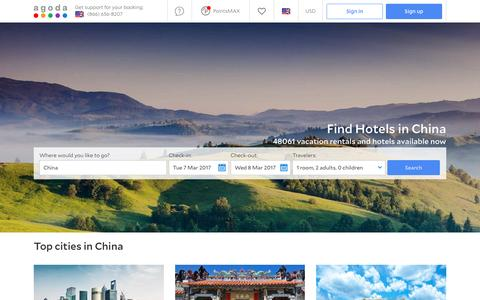 China Hotels - Online hotel reservations for Hotels in China