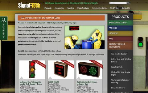 LED Safety Precaution Signs | Cautionary Signs | Illuminated Precautionary Signs | Illuminated Safety Signs | Signal-Tech