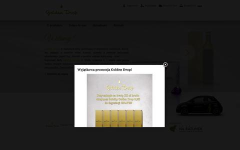 Olej Golden Drop - żyj długo i zdrowo