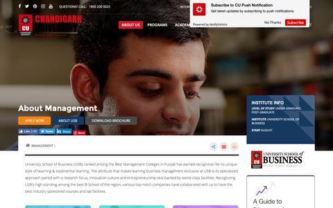 Screenshot of Team Page cuchd.in - Best Management Colleges in Punjab | Top Management Institutes - Chandigarh University - captured Oct. 21, 2018