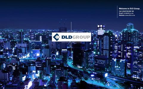 Screenshot of Home Page dld.co.ke - DLD Group - captured Jan. 28, 2015