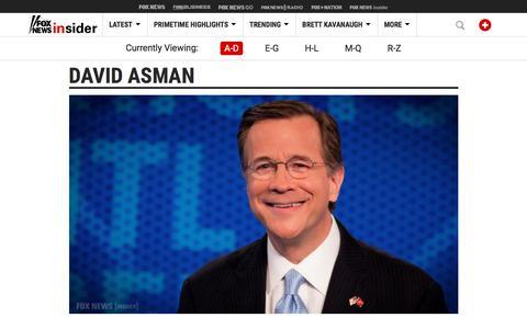 Screenshot of Team Page foxnews.com - People on Fox News Channel | Fox News Insider - captured Sept. 21, 2018