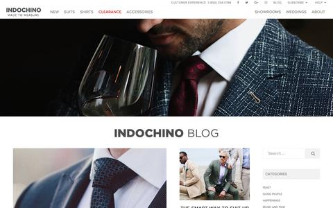 Indochino Blog – A magazine with thoughts, advice and useful information for a well-fitting life.