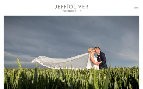 Screenshot of Home Page jeffoliver.co.uk - London Wedding Photographer - captured Oct. 13, 2018
