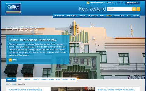 Hawke's Bay Office | New Zealand | Colliers International