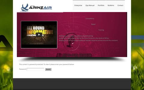 Screenshot of Home Page amintegrated.org - Aerospace Management Integrated - captured Feb. 4, 2016