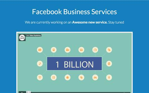 Facebook Business Services | Video Ads, Lead Ads, Facebook Ads, Fan Pages