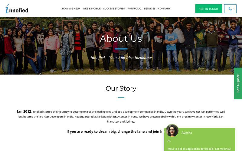 Innofied - Leading Mobile & Web App Development Company