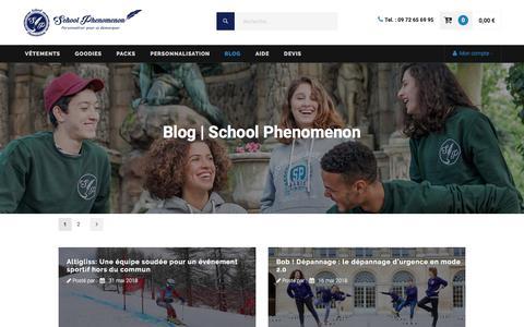 Screenshot of Blog school-phenomenon.com - Blog | School Phenomenon - captured July 27, 2018