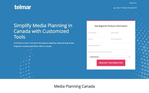 Media Planning in Canada - Telmar