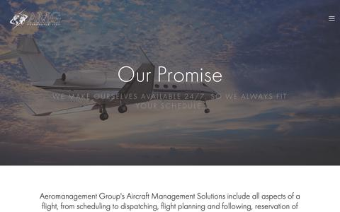 Screenshot of Team Page aeromanagement.com - Aircraft Management by Aeromanagement Group —    Aeromanagement Group - captured Oct. 3, 2018