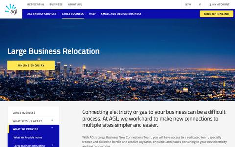 Connecting Electricity & Gas for Large Businesses | AGL