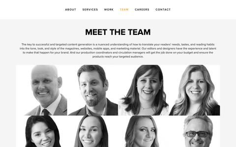 Screenshot of Team Page mcneill-group.com - TEAM | McNeill Media Group - captured Feb. 16, 2019