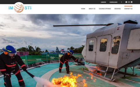 Screenshot of Contact Page imosti.com - IMOSTI | Contact Us - captured Oct. 1, 2018