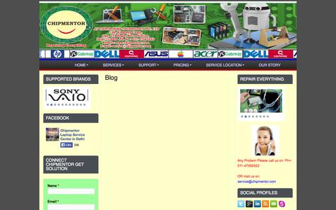Screenshot of Blog chipmentor.com - Blog | Chipmentor - captured Oct. 2, 2014