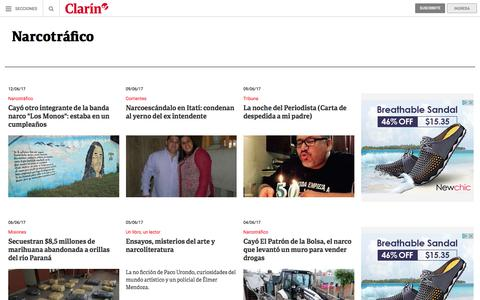 Narcotrafico: noticias – clarin.com