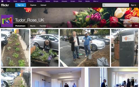 Screenshot of Flickr Page flickr.com - Flickr: Tudor_Rose_UK's Photostream - captured Oct. 26, 2014