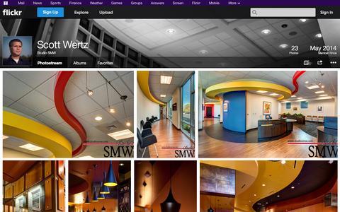 Screenshot of Flickr Page flickr.com - Flickr: Studio SMW's Photostream - captured Nov. 5, 2014