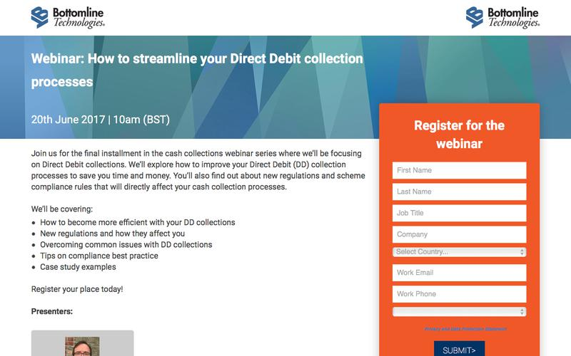 How to streamline your Direct Debit collection processes